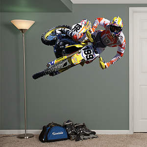 Travis Pastrana Action Fathead Wall Decal
